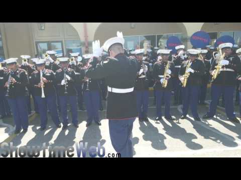NOMMA New Orleans Military & Maritime Academy Marching Band - 2017 Mardi Gras Parade