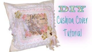 No Sew Easy Diy Cushion / Pillow Cover Tutorial