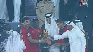 تتويج الدحيل بطلاً لكأس سمو الأمير 2019