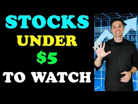 3 Spec Stocks Under $5 To Watch