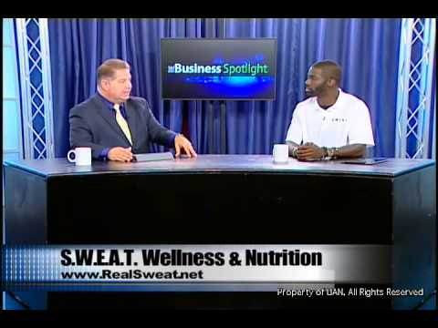 RealSweat on The Business Spotlight TV