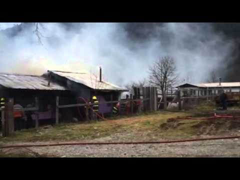 Incendio en Neltume