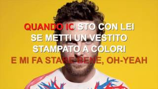 Jovanotti - Ragazza magica - Karaoke con testo