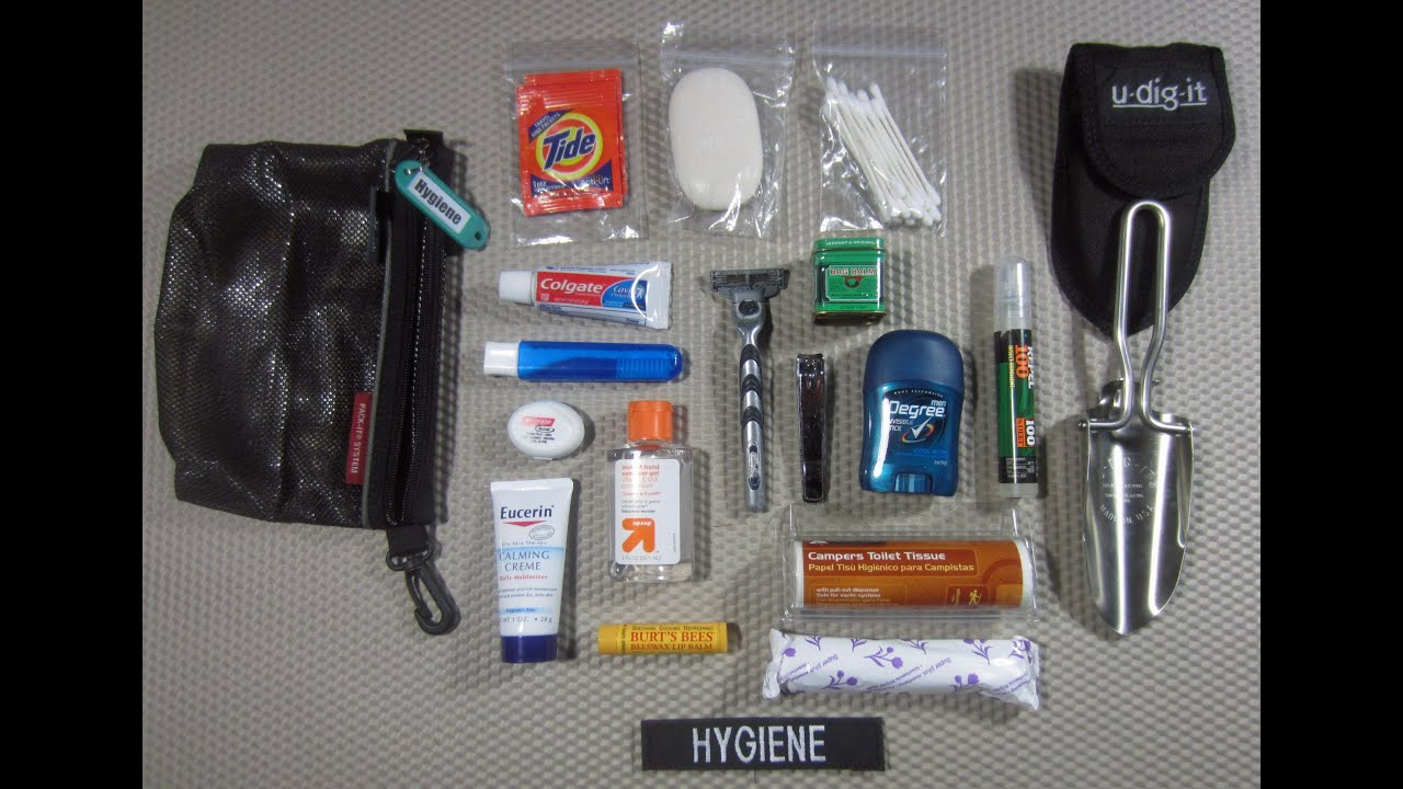 Hygiene Module Building A Bug Out Bag By Theurbanprepper
