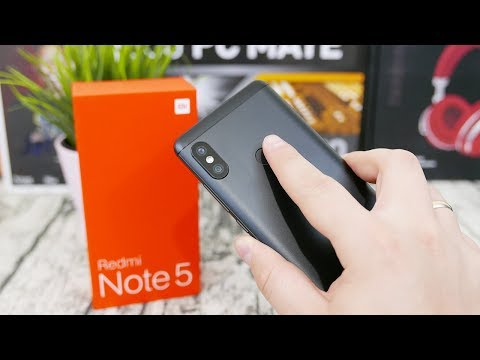 Xiaomi REDMI NOTE 5 Unboxing ( Global Version ) - Faster Snapdragon and Samsung Cameras