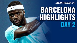 Bautista Agut vs Andujar; Sinner, Tiafoe & Musetti In Action | Barcelona Open 2021 Highlights Day 2