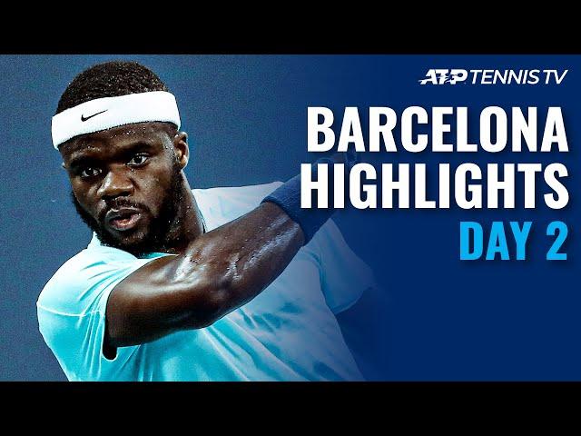 Bautista Agut vs Andujar; Sinner, Tiafoe & Musetti In Action | Barcelona Open 2021 Highlights Day 2