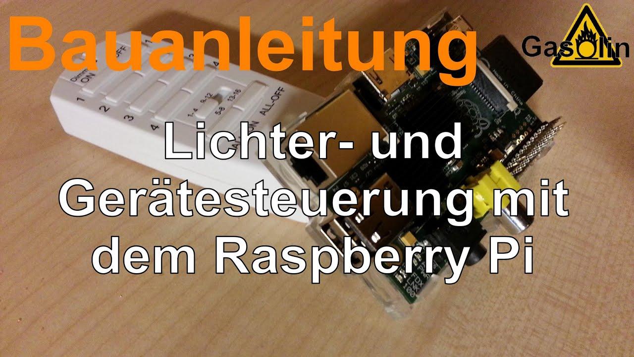 Bauanleitung Lichter- und Gerätesteuerung mit dem Raspberry Pi ...
