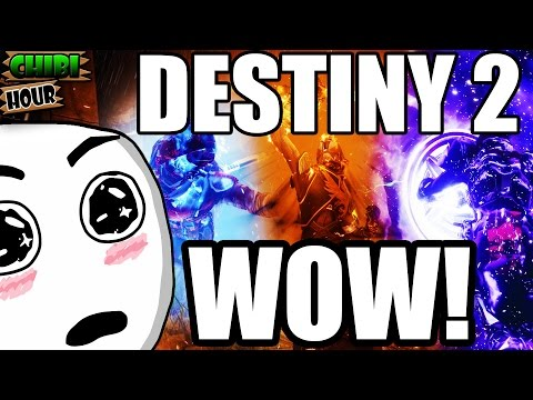 Destiny 2 Gameplay Reveal Thoughts! (SO MUCH AWESOME INFORMATION!)