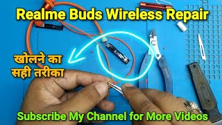 Realme Buds Wireless Broken One Side Not Working Solved