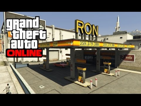GTA 5 Online - Ron Gas Station Wall Breach
