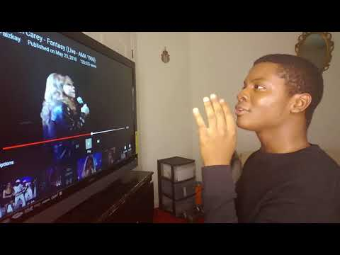 "MARIAH CAREY - ""Fantasy"" 1996 AMA'S (REACTION)"