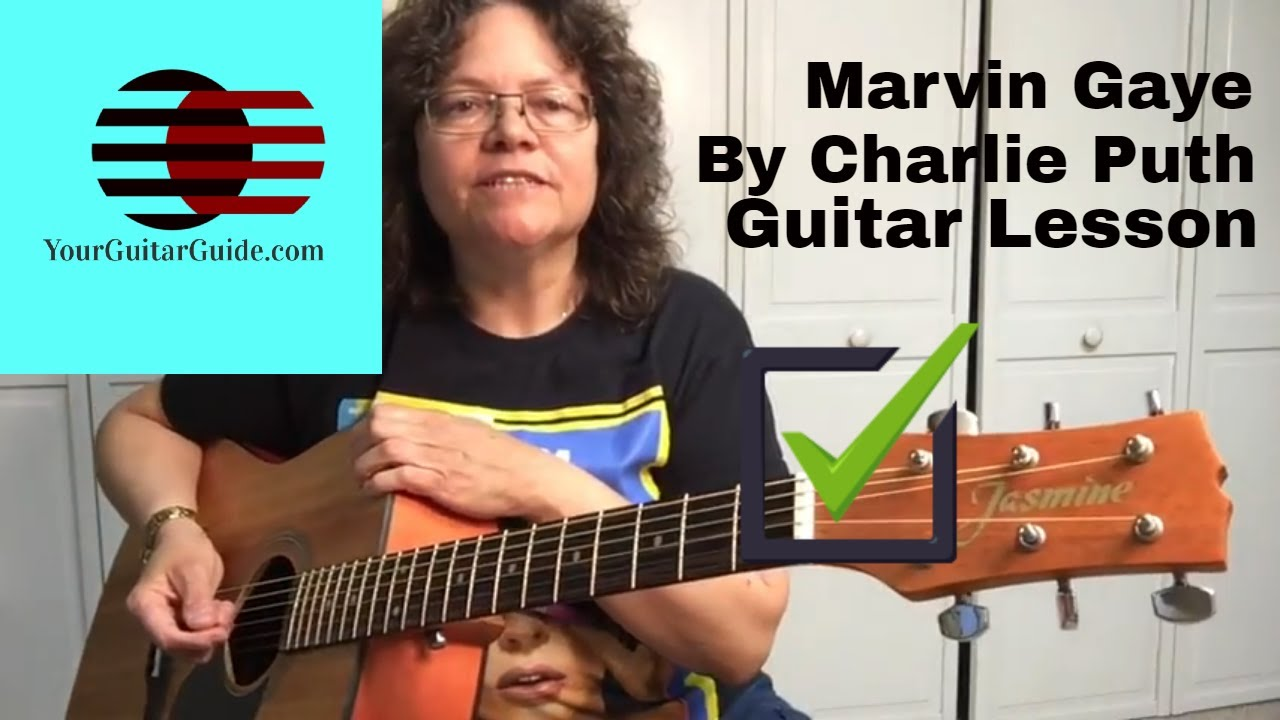 Marvin Gaye by Charlie Puth Guitar Lesson