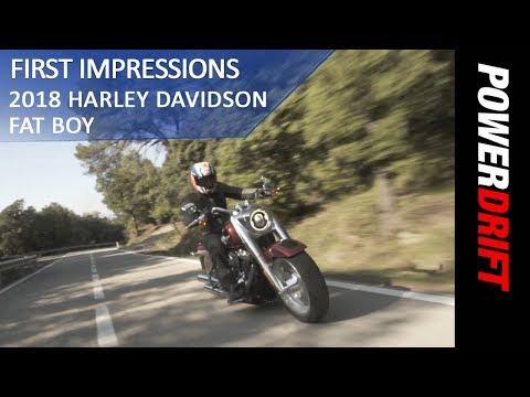 2018 Harley Davidson Fat Boy : First Ride : PowerDrift