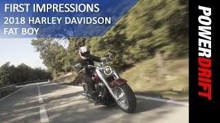 2018 Harley Davidson Fat Boy : First Ride : PowerDrift
