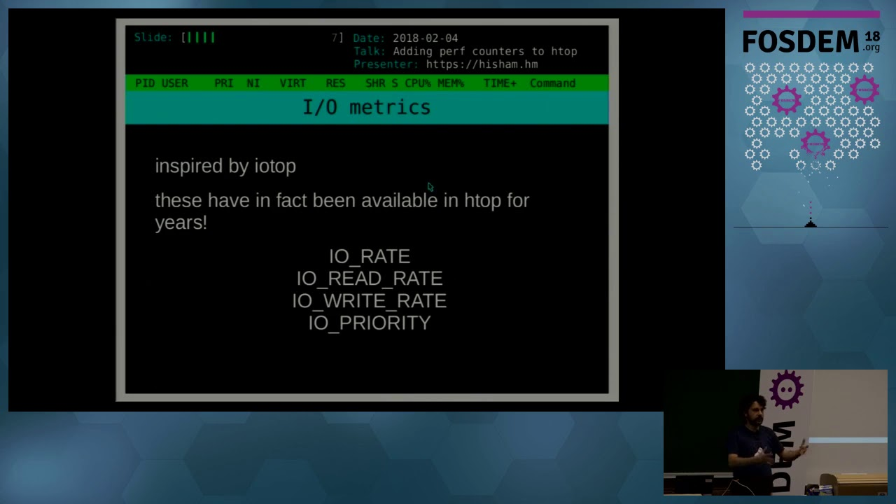 htop - an interactive process viewer for Unix