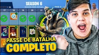 I BOUGHT THE 6 SEASON FULL BATTLE PASS (FORTNITE) - JUAUM