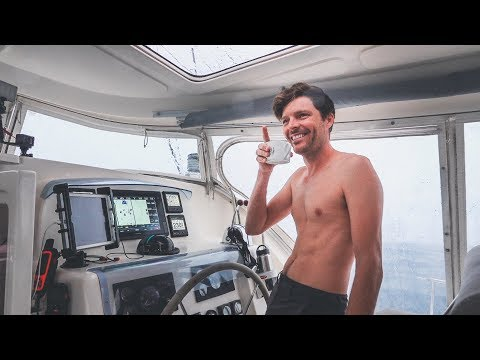 No Cake. No Brownies. Just Squalls. Happy Birthday Sailor! || Sailing French Polynesia