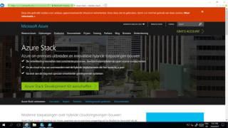 Deploy Azure Stack POC inside Azure