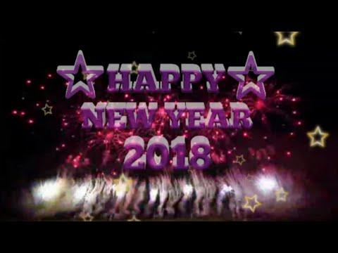 Ucapan Happy New Year 2018 || Ucapan Selamat Tahun Baru 2018 || Malam tahun baru