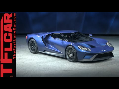 Watch the Brand New Ford GT Supercar Debut at the Detroit Auto Show & Watch the Brand New Ford GT Supercar Debut at the Detroit Auto ... markmcfarlin.com
