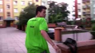 Parkour Białystok Nowe Miasto trening