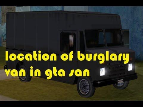 GTA SANANDREAS HOW TO GET BURGALARY VAN ( BOXVILLE )