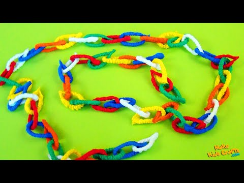 How to make a Christmas Paper Chains? DIY