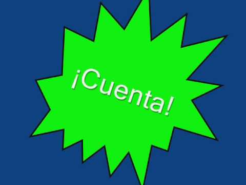 ¡Cuenta! Spanish number rap from