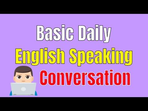 Learn English Grammar Help You Speak English Fluently ★ Basic Daily English Speaking Conversation ✔