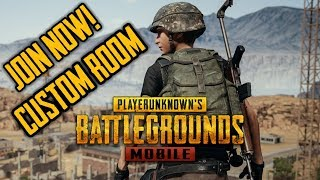 PUBG MOBILE   UNLIMITED CUSTOM ROOMS ANYONE CAN JOIN   #live #pubgmobile