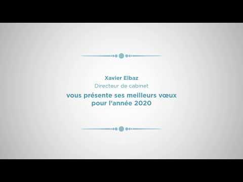 Meilleurs Vœux 2020 De Xavier Elbaz