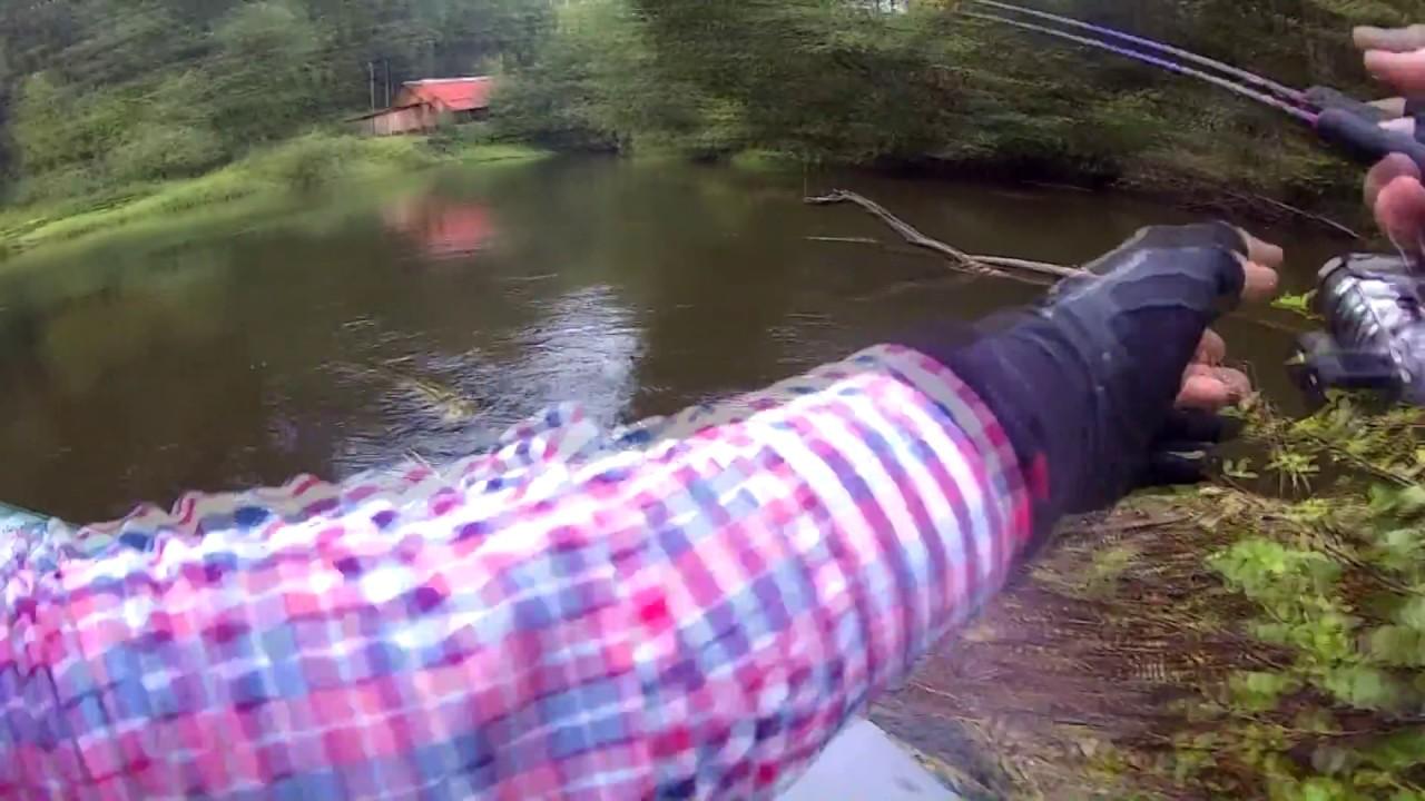 рыбалка на реке питеренка