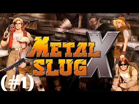 METAL SLUG X - Gameplay (Relembrando Os Velhos Tempos)