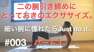 BW#003【二の腕引き締め。】REVERSE PUSH UPS1【ファンクショナルトレーニング】