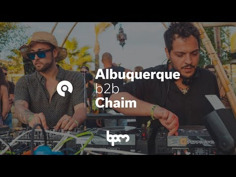 Albuquerque B2B Chaim @ BPM Festival Portugal 2017 (BE-AT.TV)