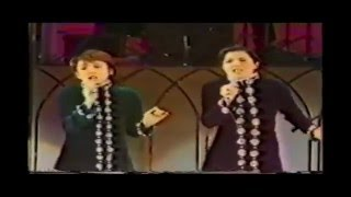 "Japanese musical stars ,Ran Ohtori and Jun Anna, are singing ""I Got..."