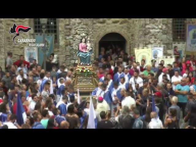 Bianco(RC)-Si erano intrufolati tra i portatori della Madonna di Polsi.