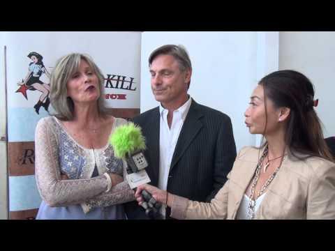 Nicholas and Pamela Guest at Doris Bergman's PreEmmy Style Lounge