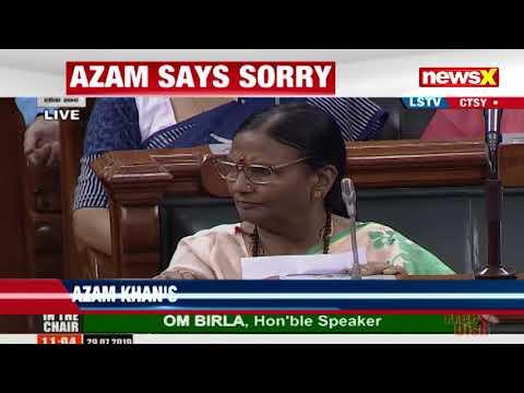 mp-azam-khan-expresses-regret,-rama-devi-responds-in-parliament