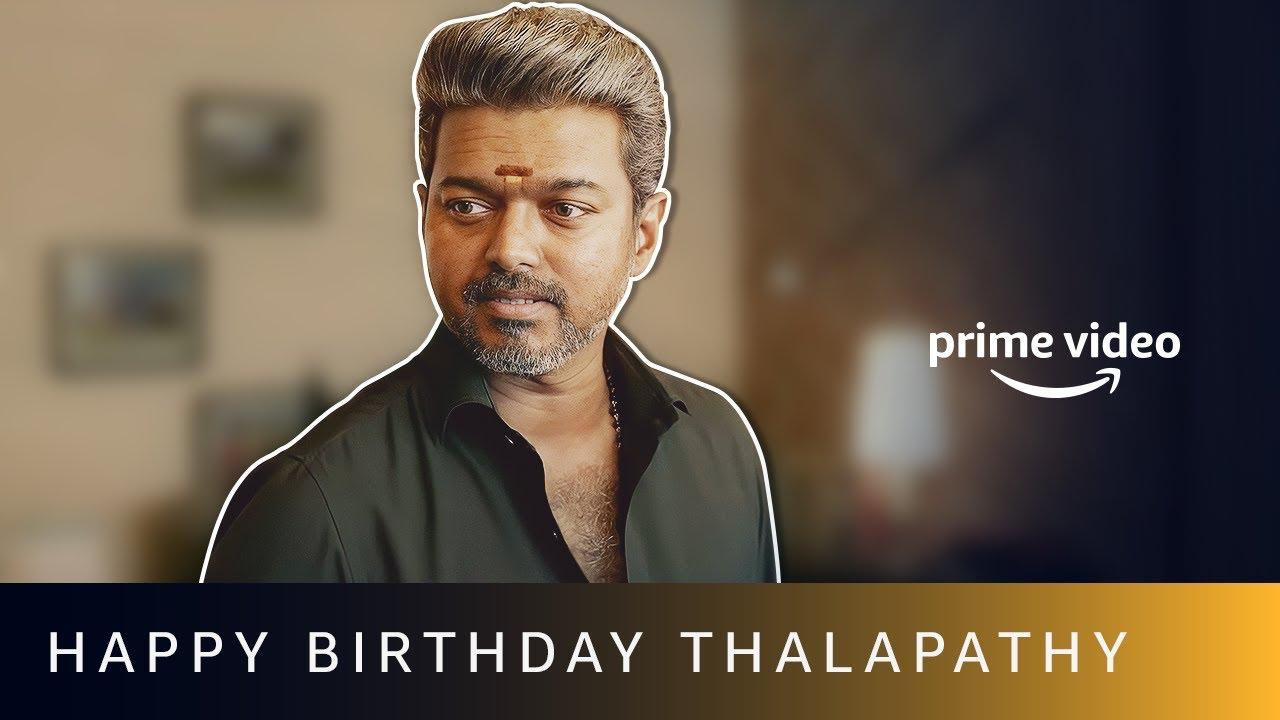 Happy Birthday Thalapathy Vijay | Amazon Prime Video #shorts
