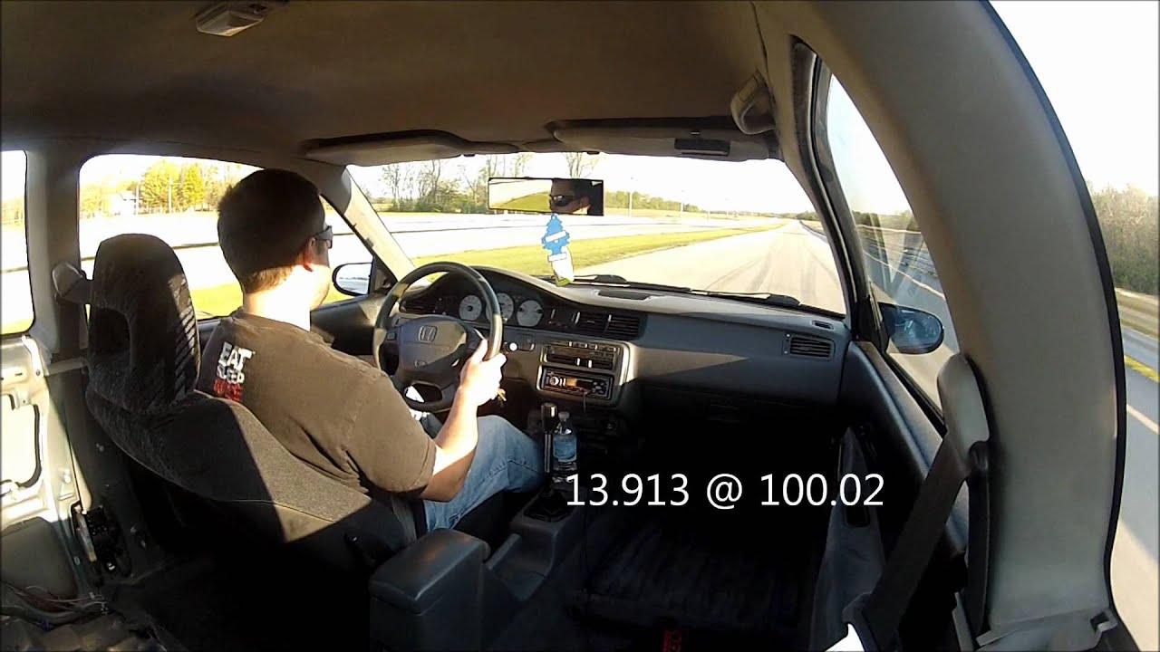 honda civic drag race 92 honda civic eg jdm b18c gsr drag racing 1080p in car youtube. Black Bedroom Furniture Sets. Home Design Ideas