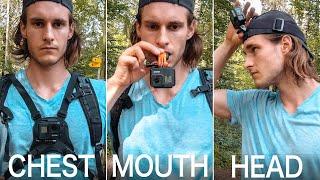 GoPro POV Videos: 4 Different Mounts Explained