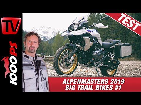 BMW R 1250 GS im Alpenmasters Test - Vergleich - große Reiseenduros 1/4