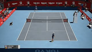 Novak Djokovic vs David Goffin | 2019 Japan Open Semifinal | AO International Tennis Gameplay