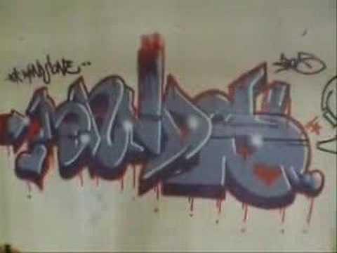 Australian adelaide Graffiti Art (Paint Pt 1)