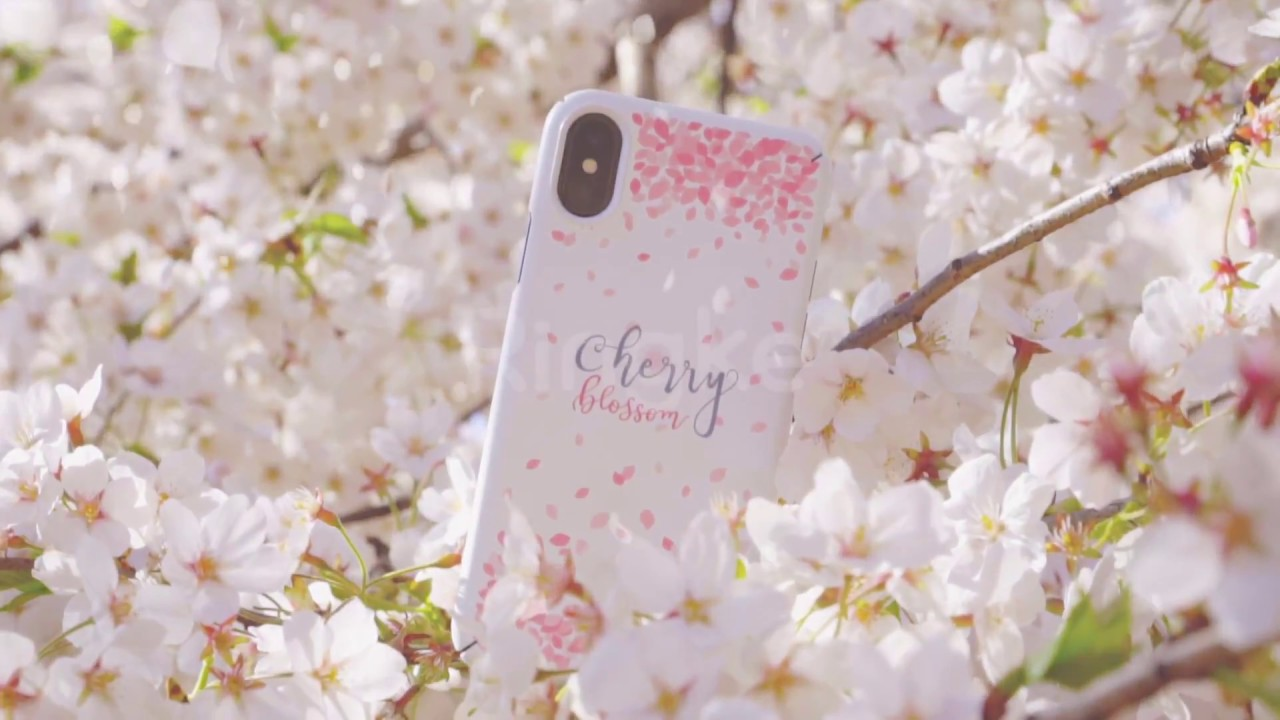 buy online a316b 8e3fb iPhone X Sakura Cherry Blossom Ringke Slim Case - Limited Spring Edition!