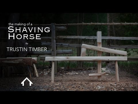 The Roy Underhill - DIY Shaving Horse build.