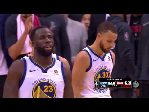 Golden State Warriors vs Houston Rockets Game 5 Last minute - 2018 Western Conference Finals