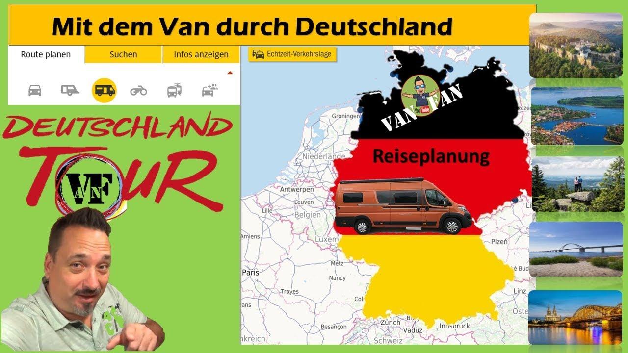 Wohnmobil Deutschland Tour  Routenplanung  Roadtrip durch Deutschland